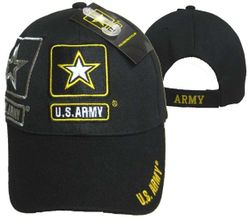 Wholesale Military Caps Suppliers - MSC Distributors - CAP601S Army Gold Star Shadow