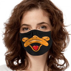 Fun Face Art Brands Heat Transfers, Virus Face Masks, Funny Graphic Screen Printed, Wholesale Supplier - Face Masks