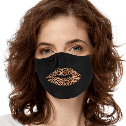Girl Mouth Women Art Brands Heat Transfers, Virus Face Masks, Funny Graphic Screen Printed, Wholesale Supplier - Face Masks