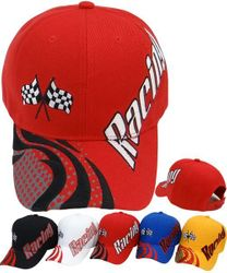 Wholesale Men's Women's Racing American Muscle Car Fashion Hats Baseball Caps Bulk Suppliers - CS-254 Racing