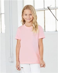 T Shirts Wholesale Bulk Supplier - Girls Youth Short Sleeve Tee | Bella-Canvas 3001Y