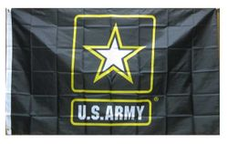 Wholesale Best Flags For Sale Military -FLG601S Army Logo Flag 3x5'
