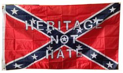 Wholesale Best Flags in the World - Confederate heritage not hate Flag 3x5'