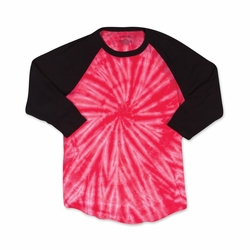 Bulk Supplier T Shirts Wholesale Discount - 660VR Cyclone Tie Dye T-Shirts RED