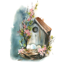 Wholesale T-Shirts Suppliers Bird House - 21601HL4