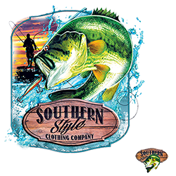 Wholesale T-Shirts Suppliers Fishing Southern - 21962HL2