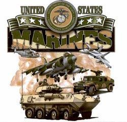 Best Selling USA Wholesale Marines T Shirts - Military T Shirts in Bulk - Boutique Apparel