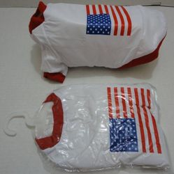 PET CARE ITEMS Products Supplies Dogs Buy Online Cheap - PS106. Insulated Pet Jacket with Flag