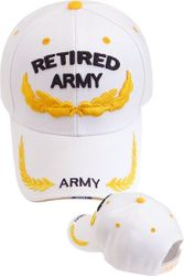 Military Caps And Hats Cheap Wholesale Online Drop Shipping - Army Retired Scramble