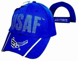 US Air Force Wholesale Bulk Suppliers - ECAP500b. Military Embroidered Acrylic Caps