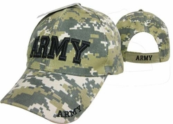 Hats Caps Army Military Hats Caps Wholesale Licensed Supplier Bulk Massachusetts - CAP601DC ARMY Cap ACU Camo