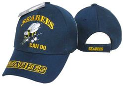 Wholesale Military Hats For Men - Seabee Ball Cap For Sale - MSC Distributors