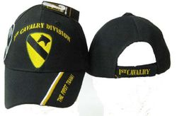 Best Selling USA Wholesale 1st Calvary Division Caps - Military Baseball Hats in Bulk - 1st Cavalry Div Cap