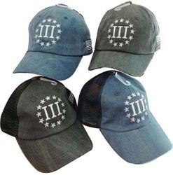 Three Percenter Hats & Caps - CAP975A
