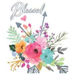 Christian T-Shirts Wholesale Blessed T-Shirts - MSC Distributors