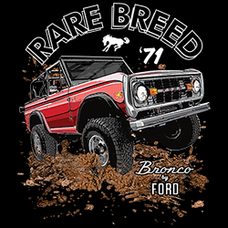 Wholesale Clothing Store, Bulk Apparel - bronco Classic Muscle Car T-Shirts, Wholesale, Embroidered, Tees, Hats, Caps, Tie-Dyes, Gifts, Accessories, Men's, Women's, Youth - 22497HD1
