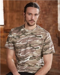 Wholesale Clothing - Anvil Short Sleeve Camo T Shirts Clothing - 939