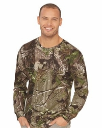 T Shirts Wholesale Distributor - Code Five Adult Realtree� Camo Long Sleeve Tee - 3981