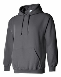 T Shirts Wholesale Distributor - Gildan - Heavy Blend Hooded Sweatshirt - 18500 Charcoal
