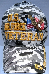 Clothing Military Hats Caps Wholesale Bulk Suppliers Massachusetts - Air force Vet SKU 119