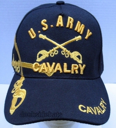 Clothing Military Hats Caps Wholesale Bulk Suppliers Massachusetts - Army Cavalry SKU 148