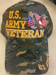 Clothing Military Hats Caps Wholesale Bulk Suppliers Massachusetts - Army Vet SKU 029
