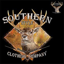 Clothing Country Southern Style Deer Hunting T Shirts Wholesale Bulk Supplier - 21968D2-250x250