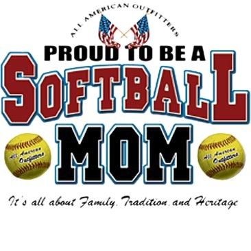 Softball Mom Discount Clothing Graphic Drop Shipping Funny
