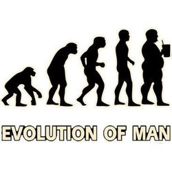 Evolution of Man Discount Clothing Graphic Drop Shipping Funny Gildan Cool Sayings Print T Shirts Wholesale - a5836g