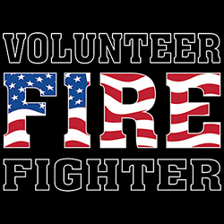 Wholesale Fashion Volunteer Firefighter T-Shirts - MSC Distributors