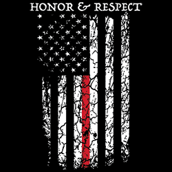 Firefighter T Shirts Wholesale Firefighter Honor Respect T Shirts - 22931EL2