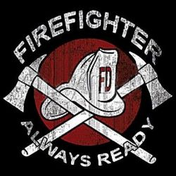 Firefighter T Shirts - a4016g
