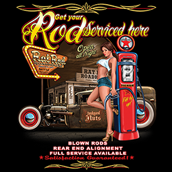 Wholesale Classic Muscle Car Custom Printed T Shirts, Polo Shirts, Hoodies, Tank Tops, Hats, Bulk - MSC Distributors