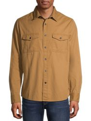 Wholesale Blank Clothing Suppliers - George Men's and Big Men's Textured Long Sleeve Shirt