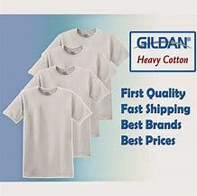 T-Shirt Wholesale Distributor - Bulk Supplier Gildan Blank - White