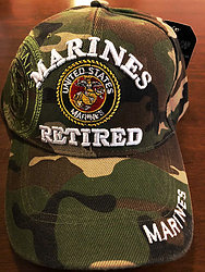 Wholesale Hats Caps Supplier Bulk - Military - Marine Ret SKU 416
