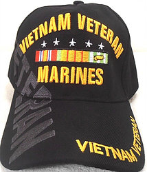 Wholesale Hats Caps Supplier Bulk - Military - Marines Vietnam Vet SKU 223