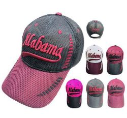Wholesale Baseball Caps Hats Cheap in Bulk Supplier USA -HT585. Air Mesh ALABAMA Hat