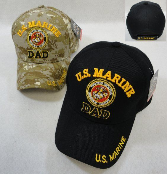 b2bd5951cd01b Wholesale Military Hats For Men Bulk Suppliers - HT2775ASST. Licensed US Marine  DAD Ball Cap-Assorted Colors