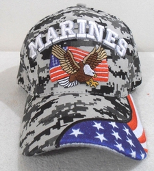 Hats Caps Wholesale Bulk Supplier - Military - US Marines SKU 120