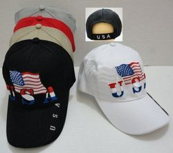 Wholesale USA American Flag Baseball Caps and Patriotic Hats Bulk Sale Suppliers - HT521. USA Flag Hat [Flag Shadow]