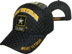 Military Wholesale Buy Cheap Products - Army Veteran Hats Embroidered Wholesale Bulk Suppliers - MSC Distributors