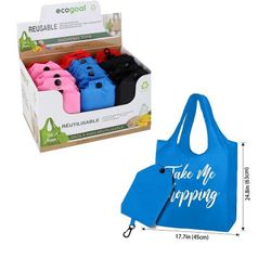 Party Toys Wholesale Bags Suppliers - HS49011. Reusable Folding Shopping Bag