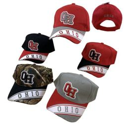 Party Toys Wholesale Hats Merchandise Flea Market Products For Resale -HT2132. OHIO Hat [Banner on Bill]