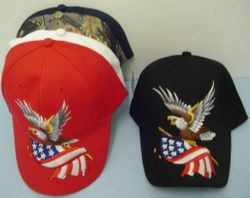 Wholesale Apparel American Flag Hats - Patriotic Hats - MSC Distributors - HT4