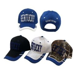 Party Toys Wholesale Hats Merchandise Flea Market Products For Resale -HT4128. KENTUCKY Hat [Window Shade Font]