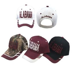 Party Toys Wholesale Hats Merchandise Flea Market Products For Resale -HT4130. ALABAMA Hat [Window Shade Font]