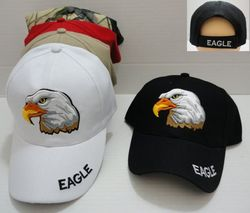 Wholesale Apparel American Flag Eagles Hats Wholesale - MSC Distributors - HT45