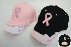 Pink Ribbon Hat [Hope. Believe.] - HT567.