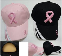 Wholesale T Shirts Hats Products for Resale Online - HT71. Breast Cancer Awareness Ribbon Hat